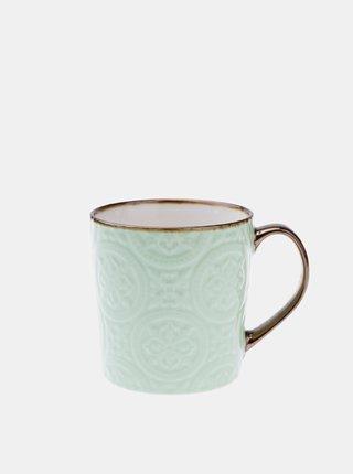 Světle modrý keramický hrnek Dakls 500 ml