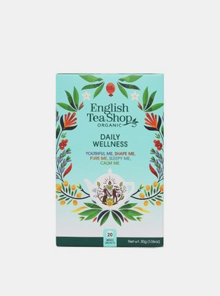 Sada čajov Každodenný Wellness English Tea Shop 20 ks