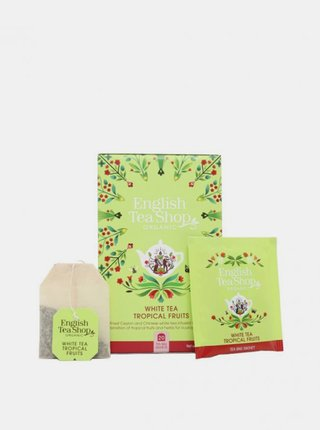 Bílý čaj s tropickým ovocem mandala English Tea Shop 20 ks