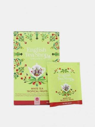 Biely čaj s tropickým ovocím mandala English Tea Shop 20 ks