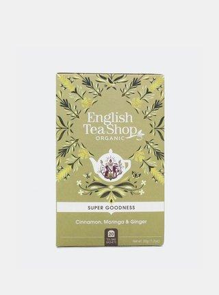 Čaj Skořice, moringa a zázvor English Tea Shop 20 ks