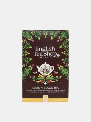 Černý čaj s citrónem English Tea Shop 20 ks