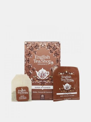 Čaj maté, kakao a kokos English Tea Shop 20 ks