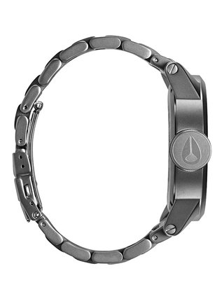 Nixon CHRONICLE SS SANDEDSTEELWHITE analogové sportovní hodinky