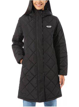 Vans CLAIR SHORES PUFFER  black zimní dámská bunda - černá