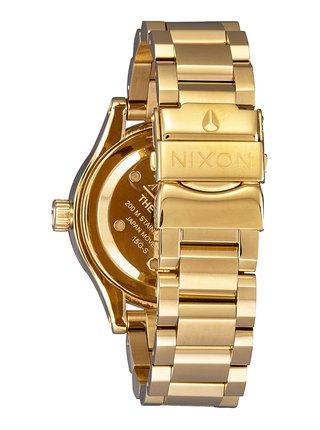 Nixon FACET 38 GOLDBLACK analogové sportovní hodinky