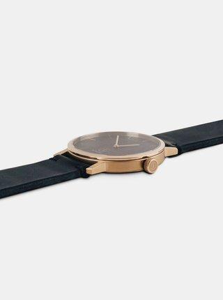 Dřevěné hodinky Lux Watch s řemínkem z pravé kůže BeWooden