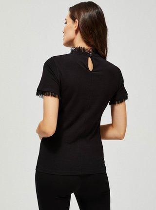 Moodo čierne tričko