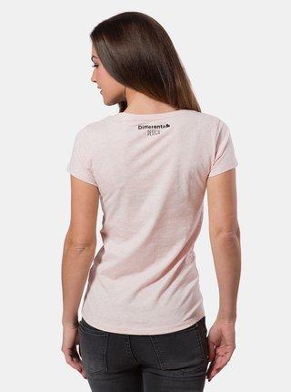 Differenta Design púdrové dámske tričko Tatínek vám vyhlásí válku