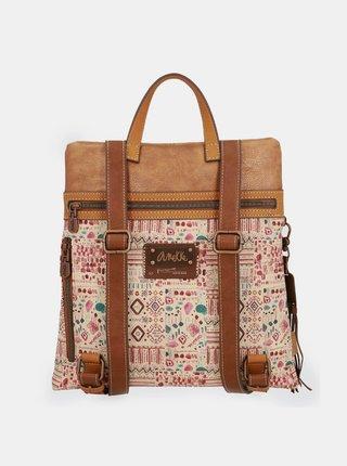 Anekke plochý ruksak Arizona