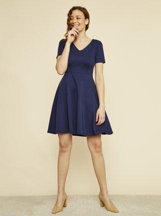 Tmavě modré basic šaty ZOOT Julia
