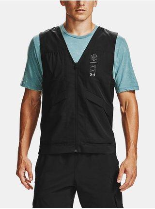 Vesta Under Armour M UA Run Anywhere Vest - černá