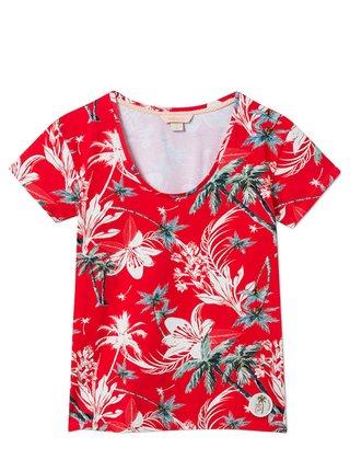 Femi Stories LANDA TRP dámské triko s krátkým rukávem - červená