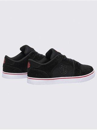 Element HEATLEY BLACK RED letní boty dětské - černá