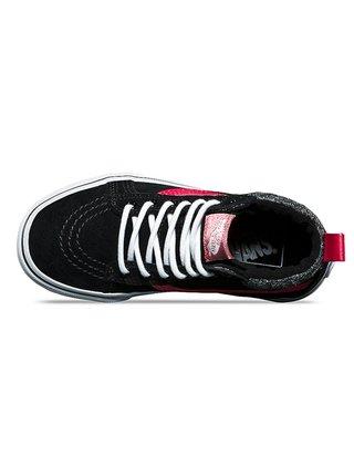 Vans SK8-HI MTE (MTE) black/metallic dětské zimní boty - černá