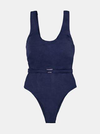 Tmavě modré jednodílné plavky DORINA