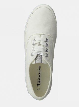 Bílé tenisky Tamaris