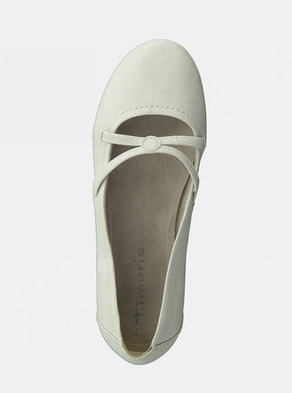 Biele baleríny Tamaris