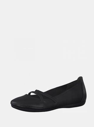 Čierne baleríny Tamaris