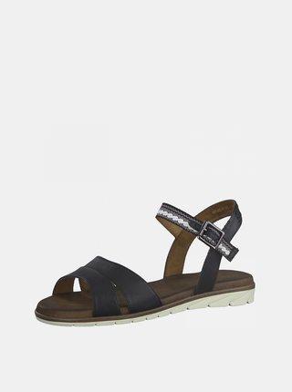 Tmavě modré sandálky Tamaris