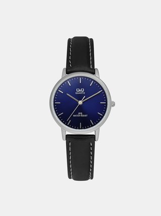 Tmavě modré dámské hodinky Q&Q