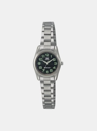 Dámské hodinky s nerezovým páskem ve stříbrné barvě Q&Q