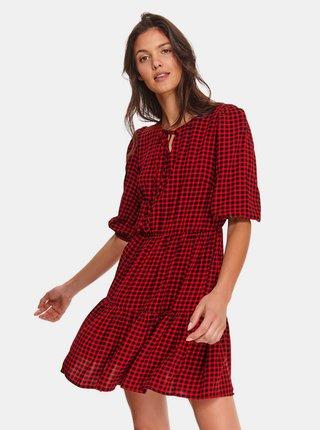 Šaty na denné nosenie pre ženy TOP SECRET - červená