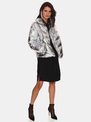 Černé mikinové šaty s kapucí TOP SECRET
