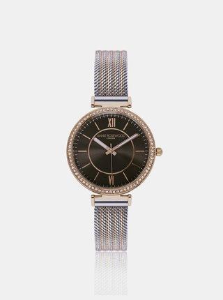 Dámske hodinky s nerezovým remienkom v zlato-striebornej farbe Annie Rosewood