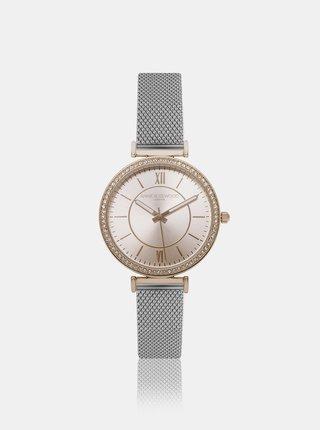 Dámské hodinky s nerezovým páskem ve stříbrné barvě Annie Rosewood