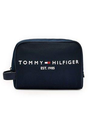 Tommy Hilfiger modrá kosmetická taška Established Washbag
