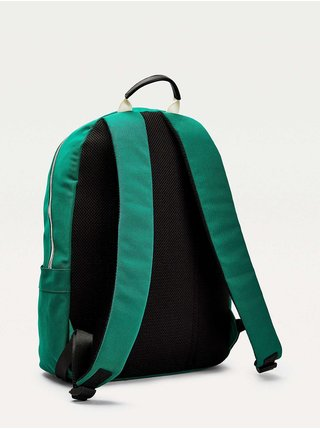 Tommy Hilfiger zelený batoh Signature Flag Backpack
