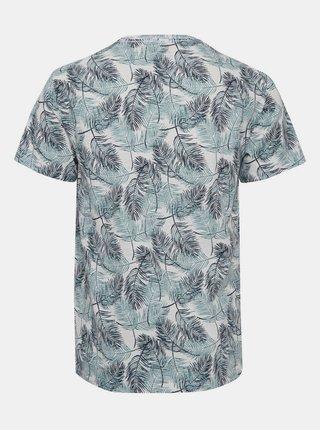 Zeleno-modré vzorované tričko Blend