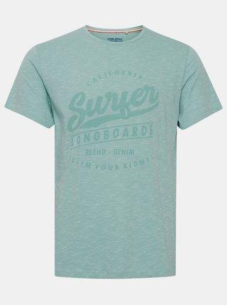 Světle modré tričko s potiskem Blend