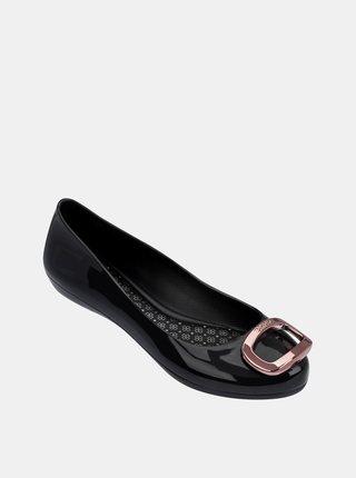 Zaxy černé dámské balerínky Pop Charm Fem Black/Rose