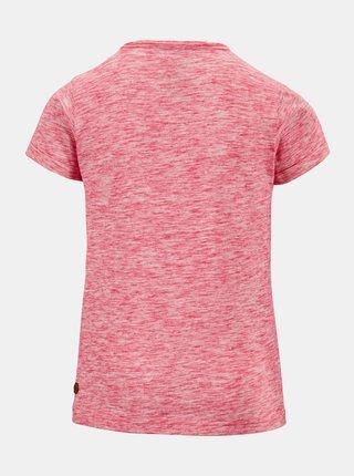 Ružové dievčenské tričko s potlačou killtec