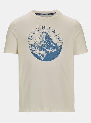 Krémové pánske tričko s potlačou killtec