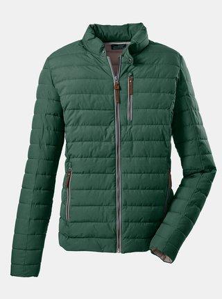 Zelená pánská prošívaná bunda killtec