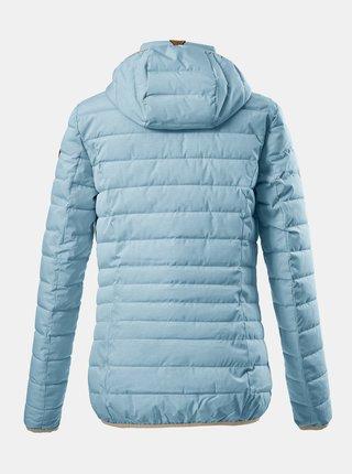 Světle modrá dámská prošívaná bunda killtec