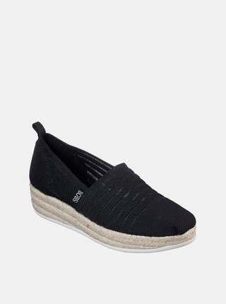 Skechers černé espadrilky s jutou Highlights 2.0. Homestretch Black
