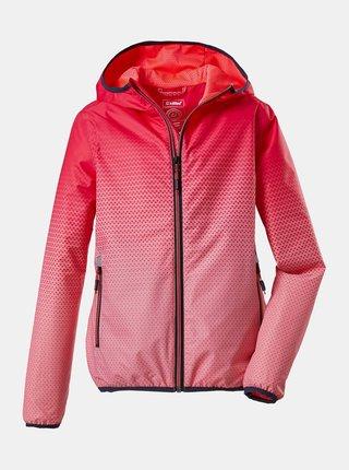 Ružová dievčenská vodeodolná bunda killtec
