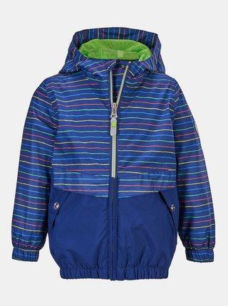 Modrá klučičí pruhovaná bunda killtec