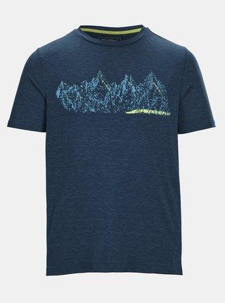 Tmavomodré pánske tričko s potlačou killtec