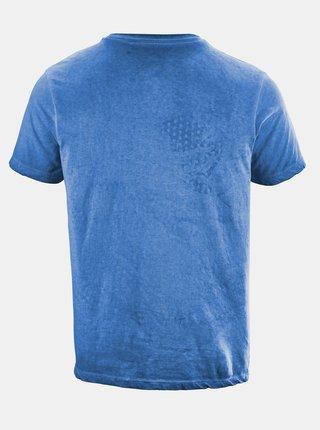 Modré pánske tričko s potlačou killtec