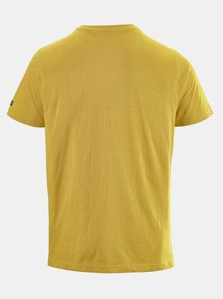 Žlté pánske tričko s potlačou killtec