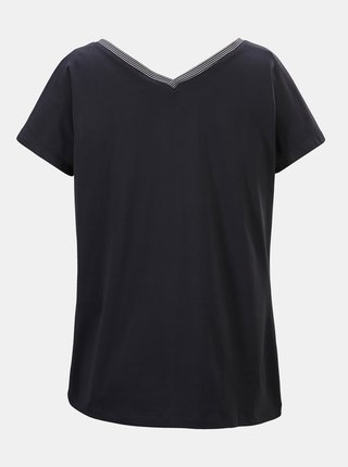 Tmavě modré dámské tričko s potiskem killtec