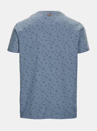 Modré pánske vzorované tričko killtec