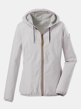 Šedo-bílá dámská oboustranná bunda killtec