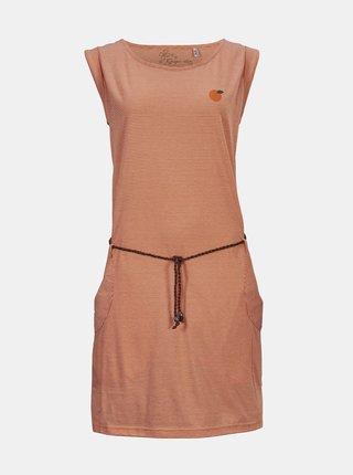 Móda pre plnoštíhle pre ženy killtec - oranžová