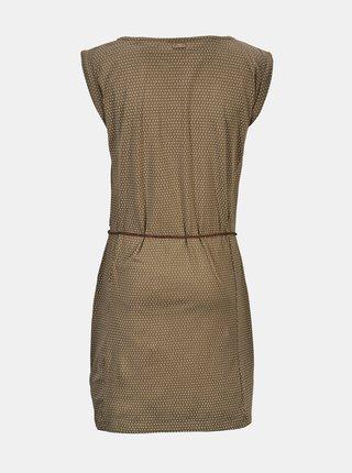 Khaki vzorované šaty killtec